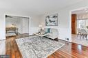 Living room - 9401 OX RD, LORTON