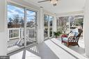 Enjoy walls of glass  doors & gorgeous new tile - 9401 OX RD, LORTON