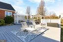 Plenty of deck space to hosts guests - 9401 OX RD, LORTON