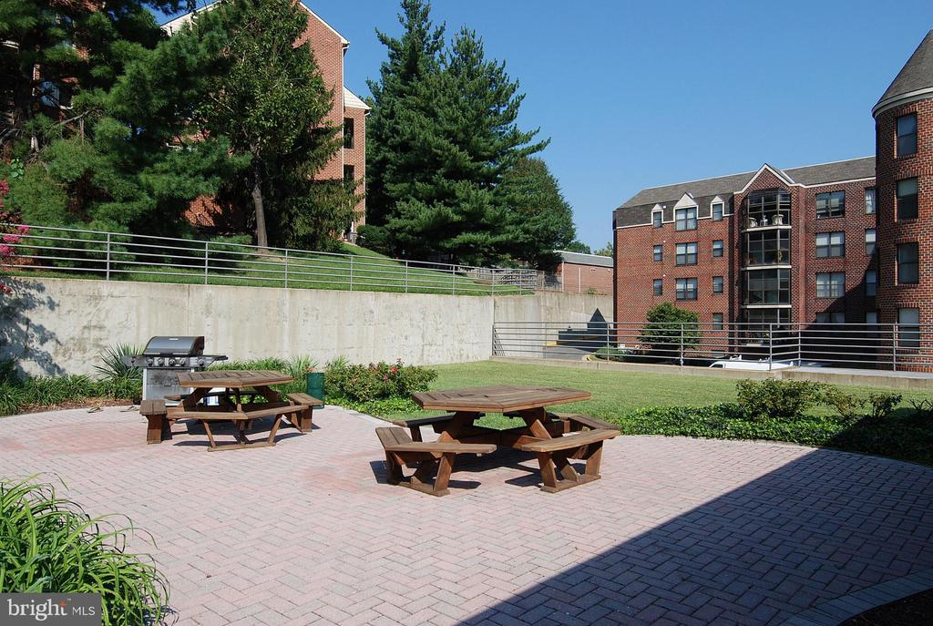 Picnic area with grill for resident use - 2100 LEE HWY #344, ARLINGTON