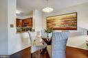 Dining Room with Hardwood Flooring - 2100 LEE HWY #344, ARLINGTON