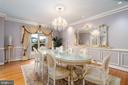 Dining Room - 15325 MASONWOOD DR, GAITHERSBURG
