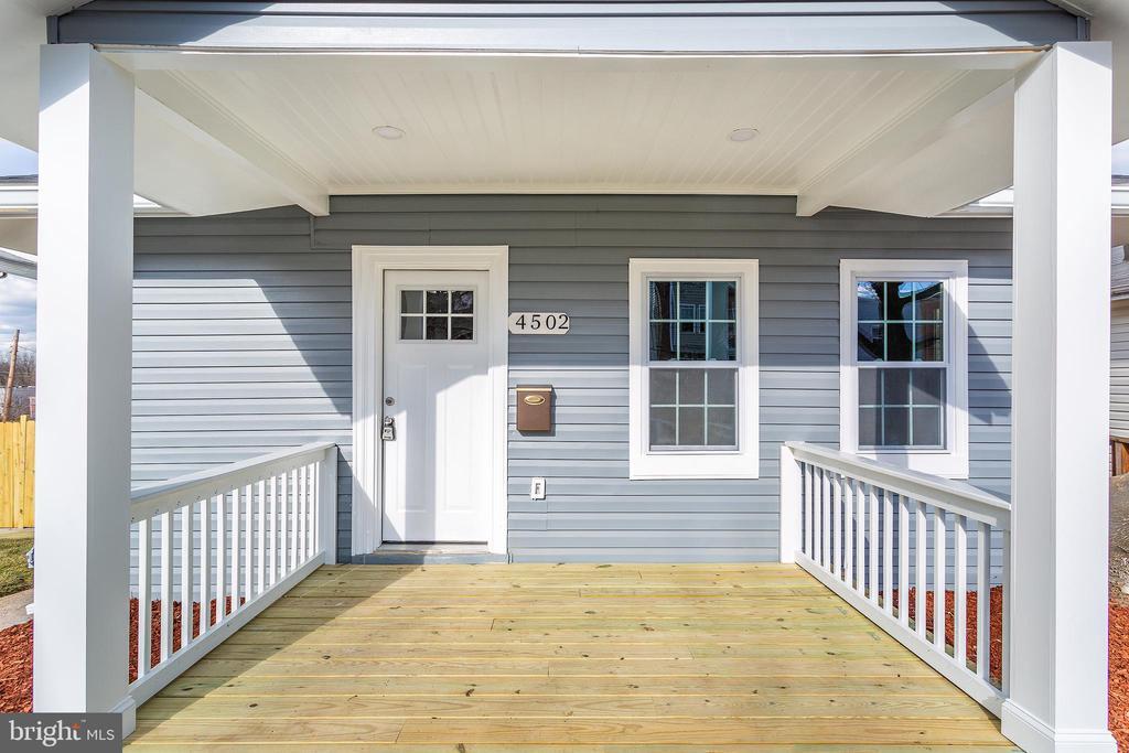 Front Door - 4502 DIX ST NE, WASHINGTON