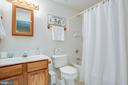 Third full bathroom in basement for guests - 6102 NEW PEMBROOK LN, FREDERICKSBURG