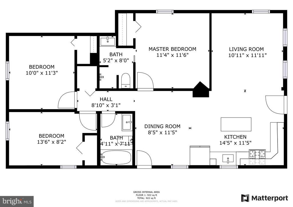 Floor Plan - 4502 DIX ST NE, WASHINGTON