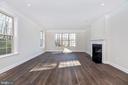 Family Room w/ optional Hardwood - 6626 ACCIPITER DR, NEW MARKET