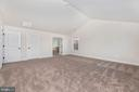 Master Bedroom w/ included Cathedral Ceiling - 6626 ACCIPITER DR, NEW MARKET