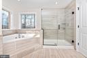 Master Bathroom w/ optional Frameless Shower Glass - 6626 ACCIPITER DR, NEW MARKET