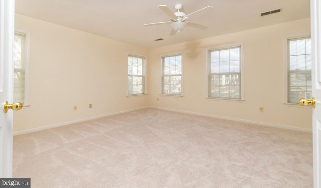 Very Large Master Bedroom with lots of windows - 22909 ADELPHI TER, STERLING