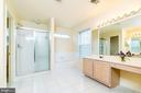 WOW! 2 separate vanities in Master bath! - 22909 ADELPHI TER, STERLING