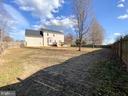 Back yard - 10809 WISE CT, SPOTSYLVANIA
