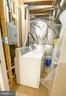 Laundry area in the basement - 10809 WISE CT, SPOTSYLVANIA