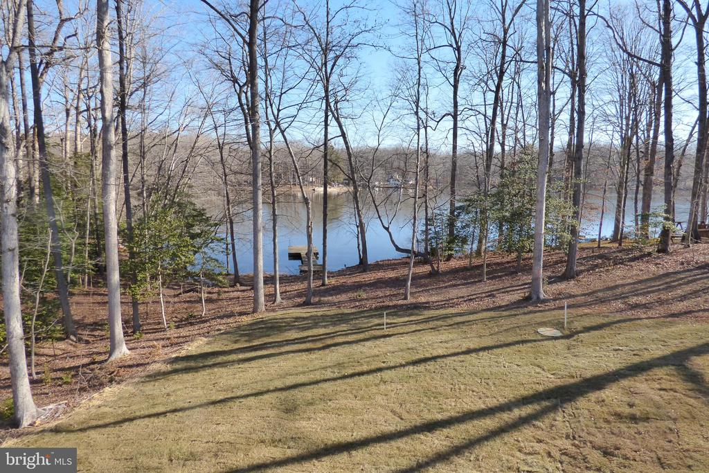 View from Deck - 1066 LAKEVIEW DR, STAFFORD
