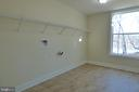 Large Laundry Room in Basement - 1066 LAKEVIEW DR, STAFFORD