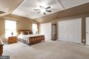 Large primary bedroom - 129 NORTHAMPTON BLVD, STAFFORD
