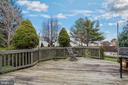 Large semi-private deck - 129 NORTHAMPTON BLVD, STAFFORD