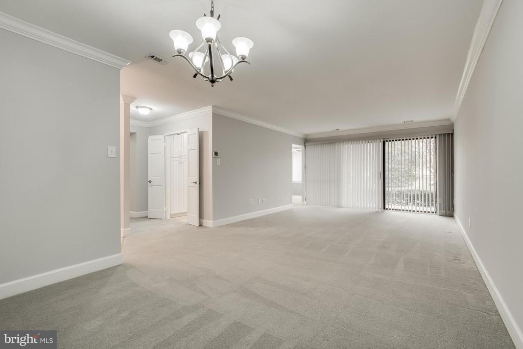 Large living room/dining rm combo! - 3031 BORGE ST #101, OAKTON