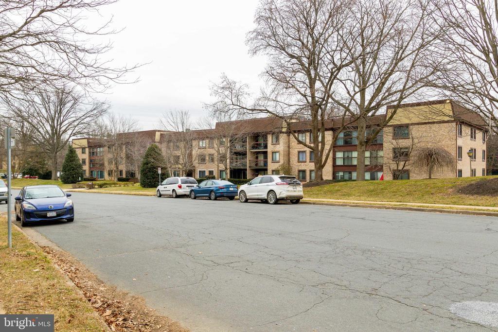 Street veiw/parking - 3031 BORGE ST #101, OAKTON