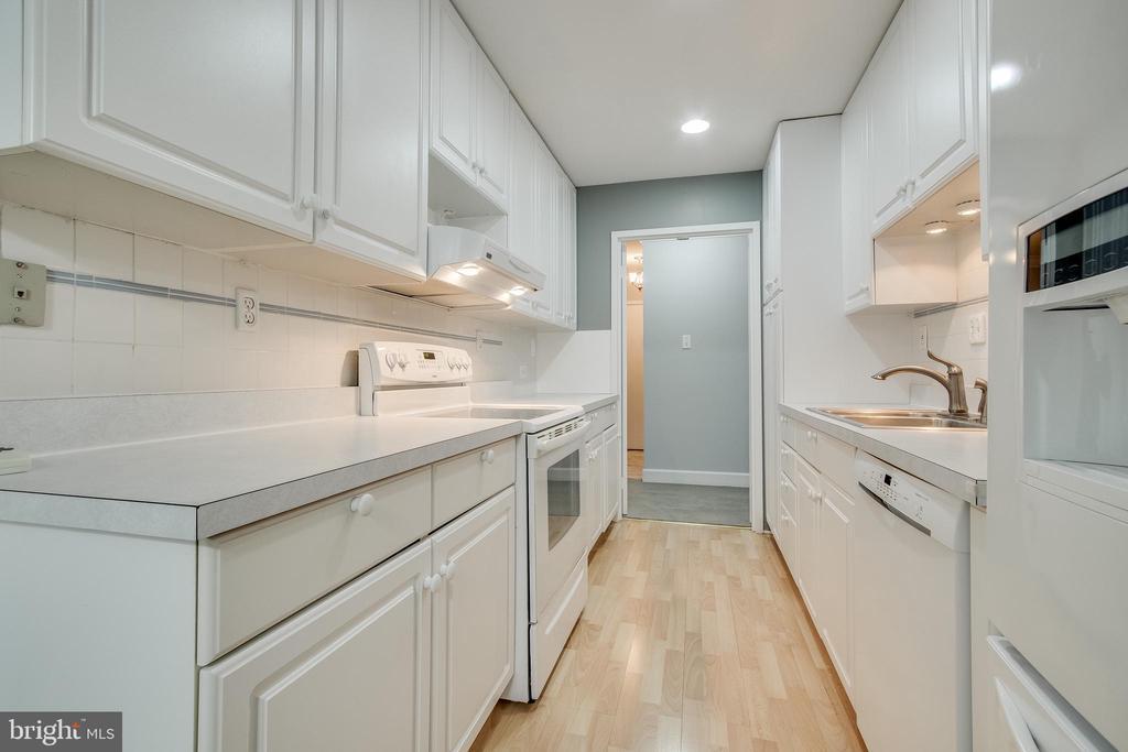 Kitchen - 3031 BORGE ST #101, OAKTON