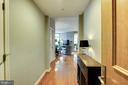 Entry Hallway - 11990 MARKET ST #1301, RESTON