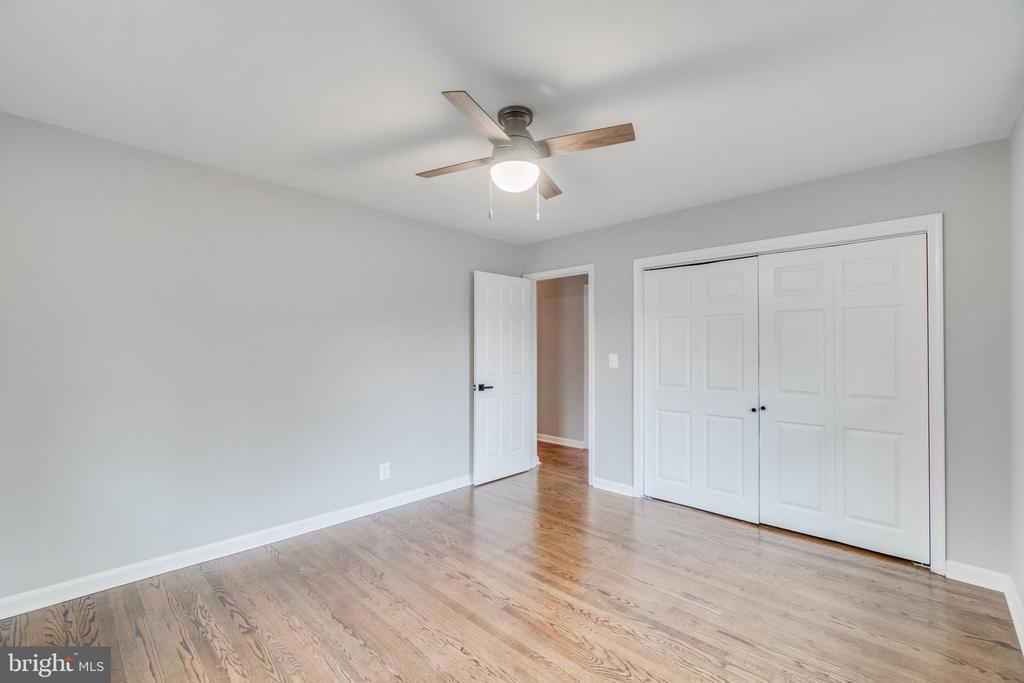 Bedroom 2 main level view to hall - 9035 DAHLGREN RD, KING GEORGE