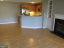 Built in shelving and storage space - 11705-C SUMMERCHASE CIR #1705-C, RESTON