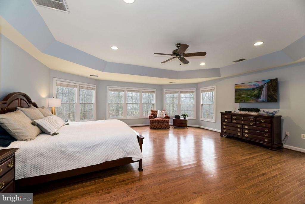 Owner's Suite Bedroom with Tray Ceiling - 8192 COTTAGE ROSE CT, FAIRFAX STATION