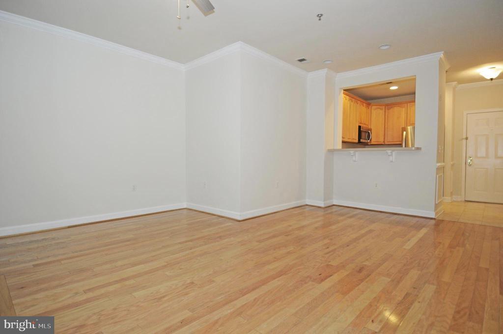 Gleaming hardwood flooring throughout - 2310 14TH ST N #205, ARLINGTON