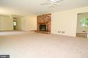 GREAT ROOM - COMBO OF DINING RM AND LIVING RM - 10215 HUNTER VALLEY RD, VIENNA