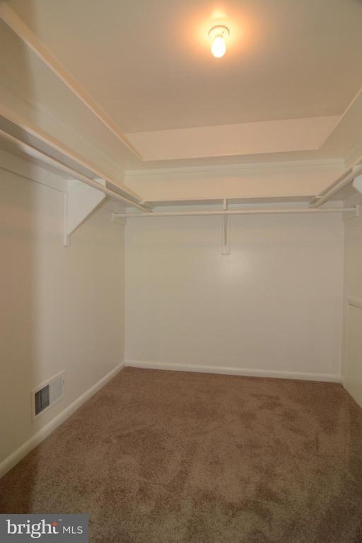 BEDROOM 2 WALK-IN CLOSET - 10215 HUNTER VALLEY RD, VIENNA