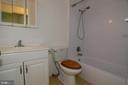 GUEST FULL BATHROOM - 10215 HUNTER VALLEY RD, VIENNA