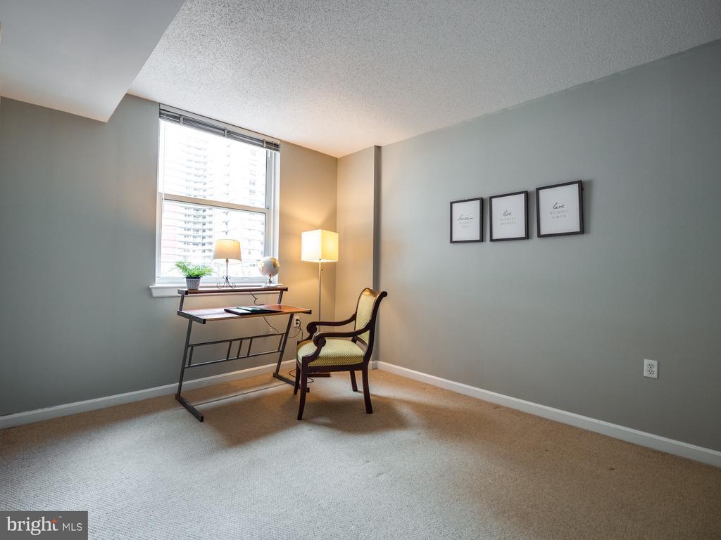 2nd private bedroom/home office  S facing window - 880 N POLLARD ST #201, ARLINGTON