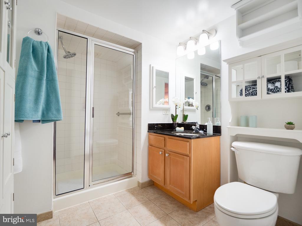 2nd bath also with wide shower door. Handicap acc. - 880 N POLLARD ST #201, ARLINGTON