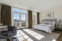 Upper level master bedroom - 1700 CLARENDON BLVD #157, ARLINGTON