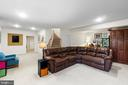 Lower Level Rec Room - 11208 BLUFFS VW, SPOTSYLVANIA