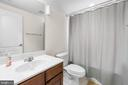 Full Bath on Lower Level - 11208 BLUFFS VW, SPOTSYLVANIA