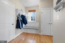 Mud Room With Lots of Built-Ins - 11208 BLUFFS VW, SPOTSYLVANIA