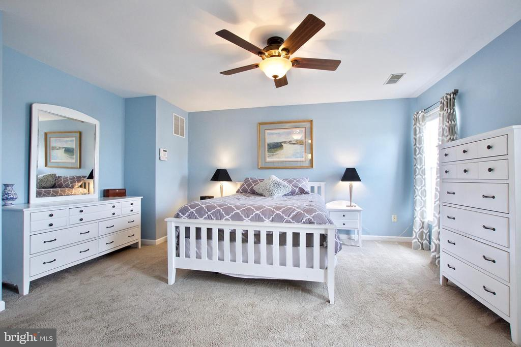Primary Bedroom has plenty of room for furniture - 42630 HARRIS ST, CHANTILLY