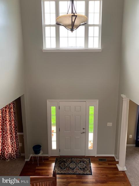 Two story foyer! - 2 ONYX CT, STAFFORD