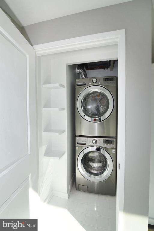 Separate Laundry Room - 3409 WILSON BLVD #611, ARLINGTON