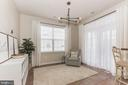 Breakfast nook w cool lighting and opens to porch - 22702 VERDE GATE TER, ASHBURN