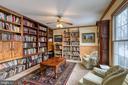 Formal living room/library - 24 CARDINAL DR, FREDERICKSBURG