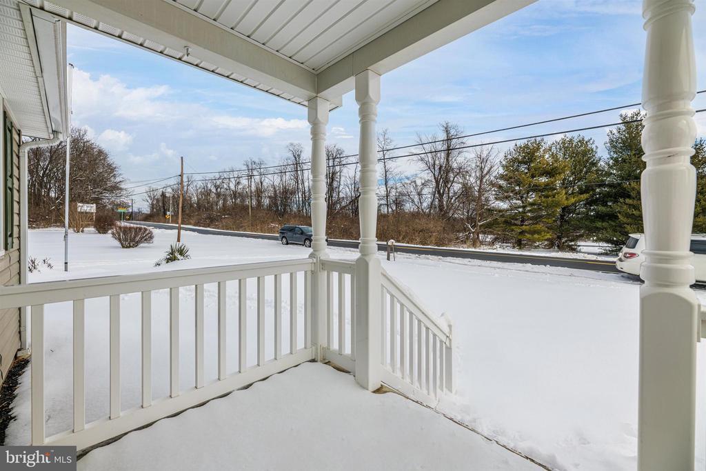 Front Porch View - 12216 AUBURN RD, THURMONT