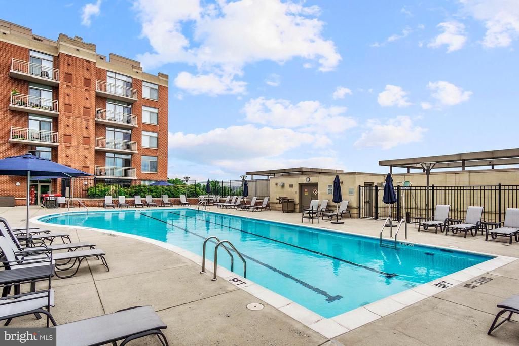 Pool - 3650 S GLEBE RD #267, ARLINGTON