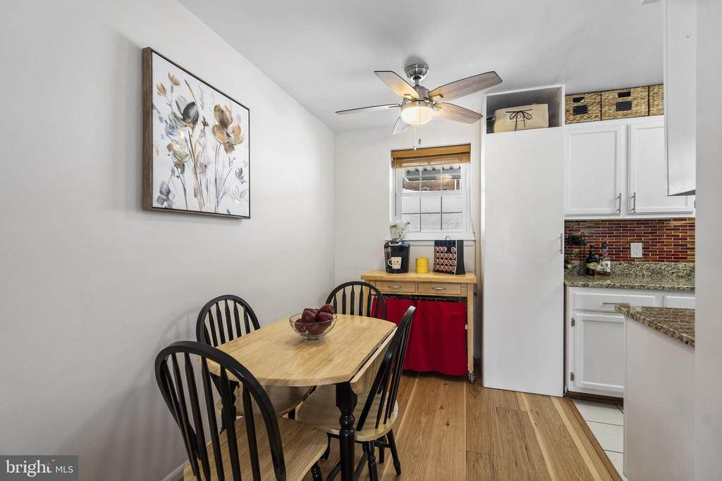 Separate dining area w/RARE built-in pantry - 4616 28TH RD S #A, ARLINGTON