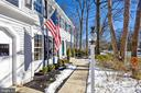 Welcoming front walk way - 11588 LAKE NEWPORT RD, RESTON