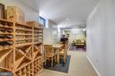 LL Wine Display and tasting area.......... - 11588 LAKE NEWPORT RD, RESTON