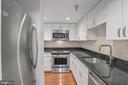Updated Kitchen - 801 PENNSYLVANIA AVE NW #1215, WASHINGTON