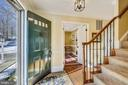 Main Level Entry and Staircase - 11588 LAKE NEWPORT RD, RESTON