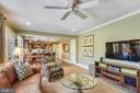 Main Level Family Room with View into the Kitchen - 11588 LAKE NEWPORT RD, RESTON